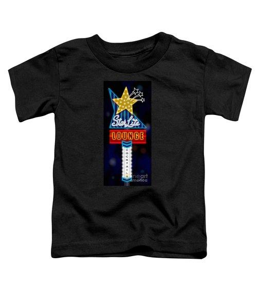 Nightclub Sign Starlite Lounge Toddler T-Shirt