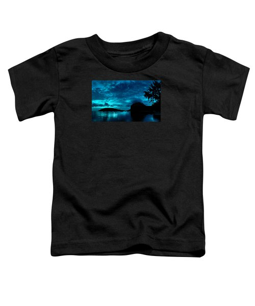 Nightfall In Mauritius Toddler T-Shirt