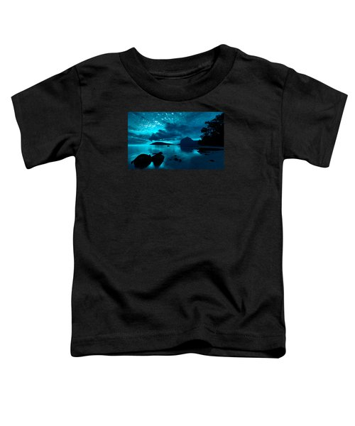 Nightfall Near Le Morne Toddler T-Shirt