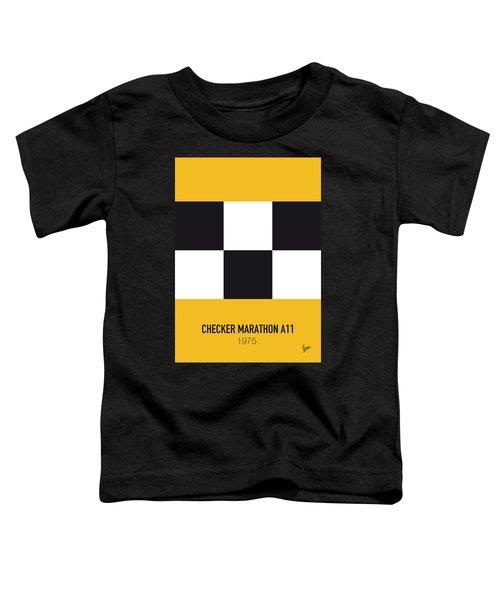 No002 My Taxi Driver Minimal Movie Car Poster Toddler T-Shirt