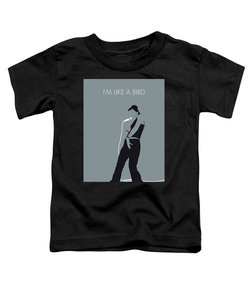 No077 My Nelly Furtado Minimal Music Poster Toddler T-Shirt