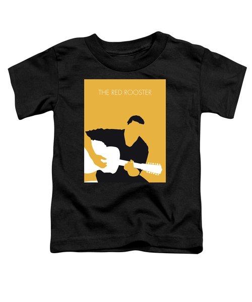 No124 My Howlin Wolf Minimal Music Poster Toddler T-Shirt