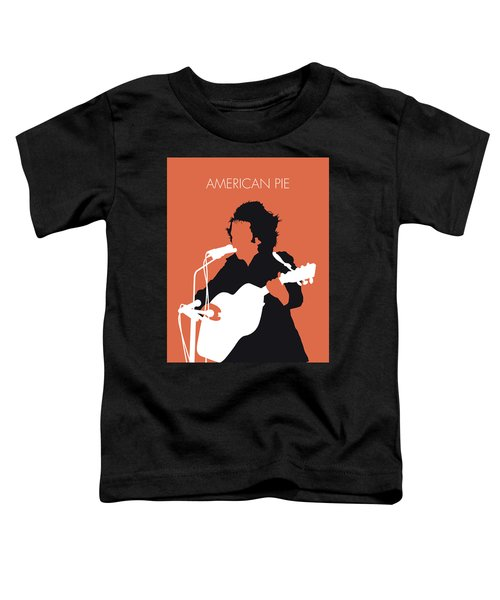 No143 My Don Mclean Minimal Music Poster Toddler T-Shirt