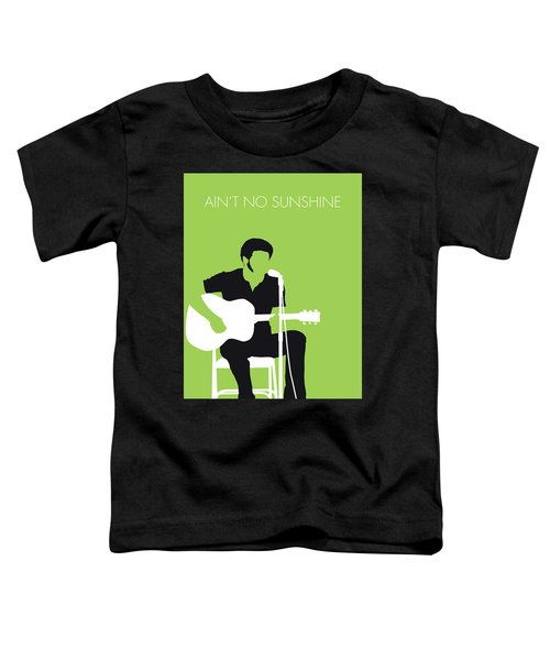 No156 My Bill Withers Minimal Music Poster Toddler T-Shirt
