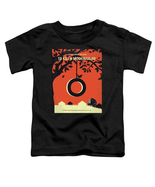No844 My To Kill A Mockingbird Minimal Movie Poster Toddler T-Shirt