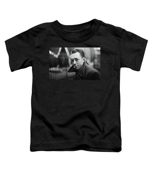 Nobel Prize Winning Writer Albert Camus Paris 1944 - 2015           Toddler T-Shirt