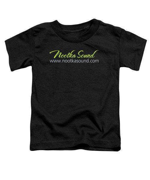 Nootka Sound Logo #6 Toddler T-Shirt by Nootka Sound