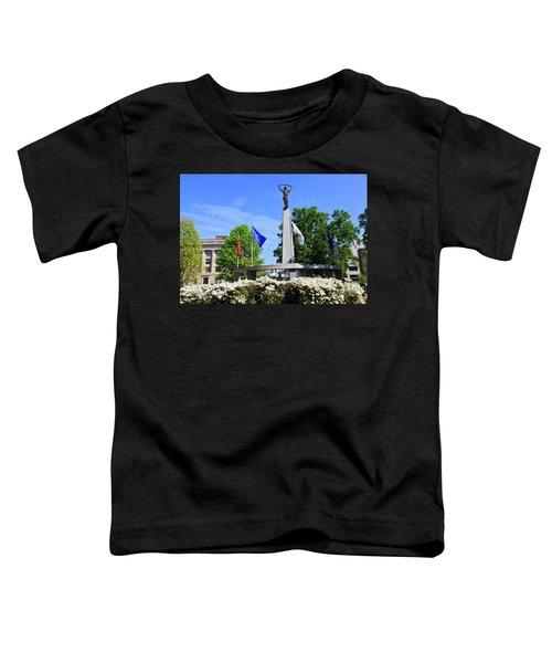North Carolina Veterans Monument Toddler T-Shirt