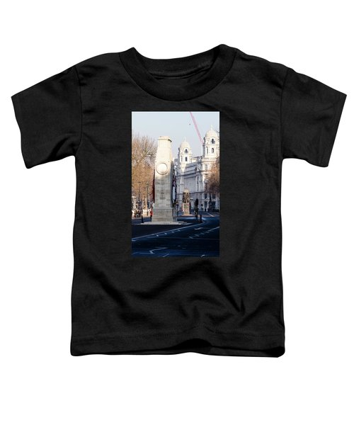 North Facade Of Cenotaph War Memorial Whitehall London Toddler T-Shirt