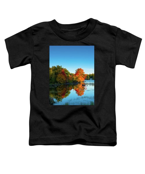 Northwood Lake Autumn Toddler T-Shirt