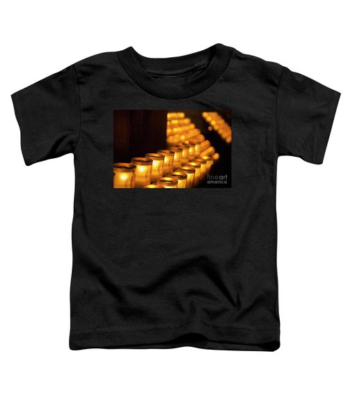 Notre Dame Candles Toddler T-Shirt