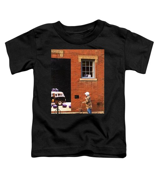 Observing Building Art Toddler T-Shirt