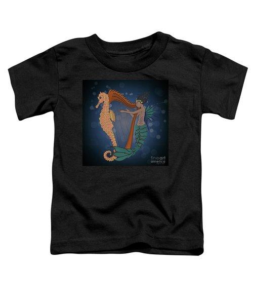 Ocean Lullaby1 Toddler T-Shirt