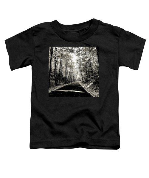 October Grayscale  Toddler T-Shirt