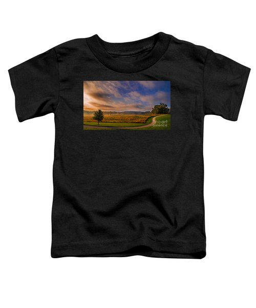 October Morning At Valley Forge Toddler T-Shirt