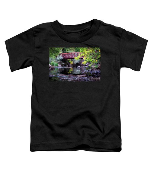 Ogden River Bridge Toddler T-Shirt