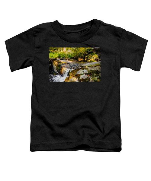 Ogwen Bank Waterfall  Toddler T-Shirt