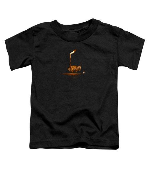 Oil Rig At Night Toddler T-Shirt