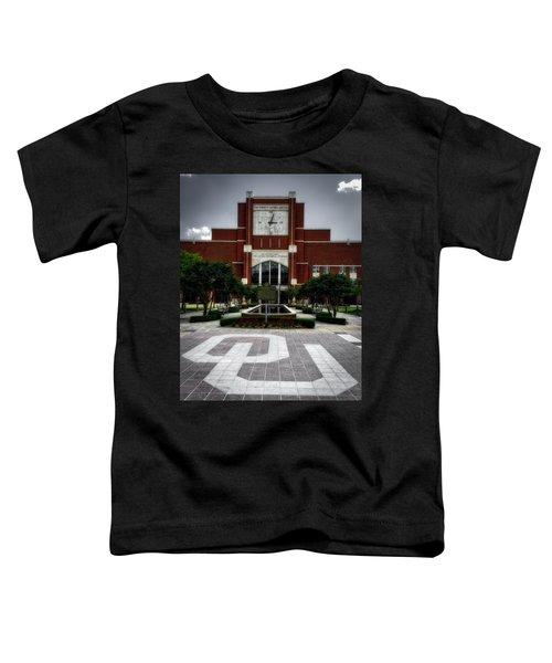 Oklahoma Memorial Stadium Toddler T-Shirt