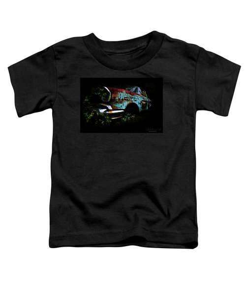 Old Blue Chevy Toddler T-Shirt
