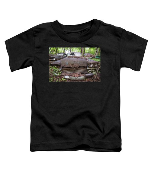Old Car City In Color Toddler T-Shirt