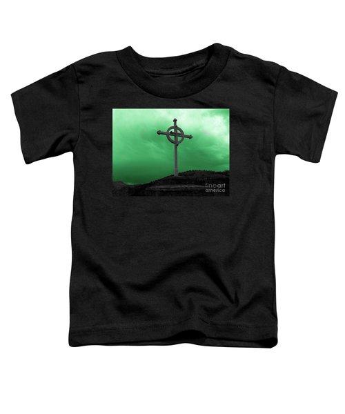 Old Cross - Green Sky Toddler T-Shirt