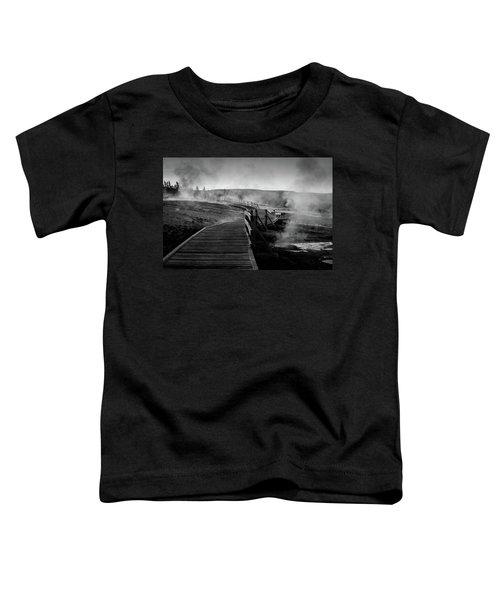 Old Faithful Boardwalk Toddler T-Shirt