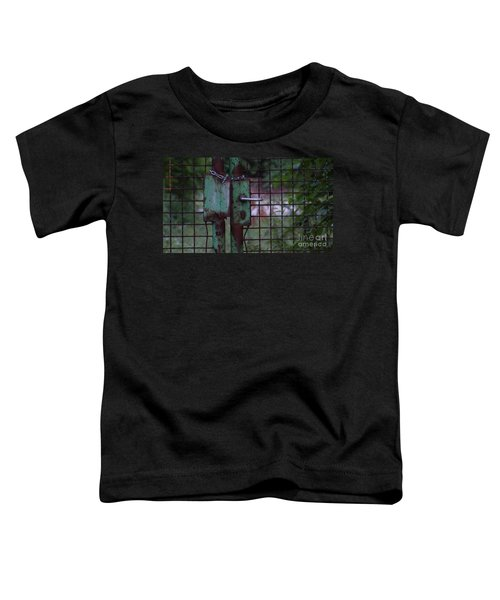 Old, Locked And Rusty Toddler T-Shirt