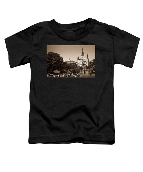 Old New Orleans Photo - Saint Louis Cathedral Toddler T-Shirt