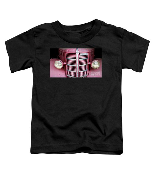 Toddler T-Shirt featuring the photograph Old Red by Stephen Mitchell