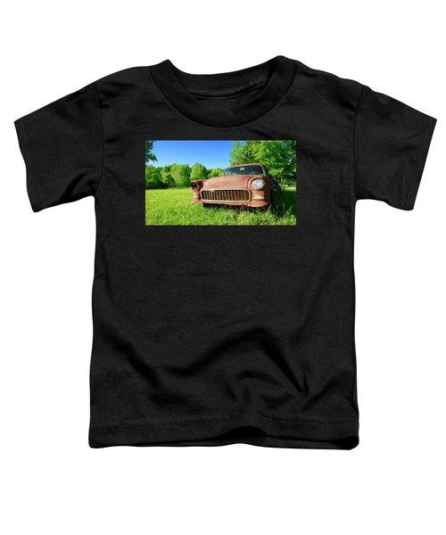 Old Rusty Car Toddler T-Shirt