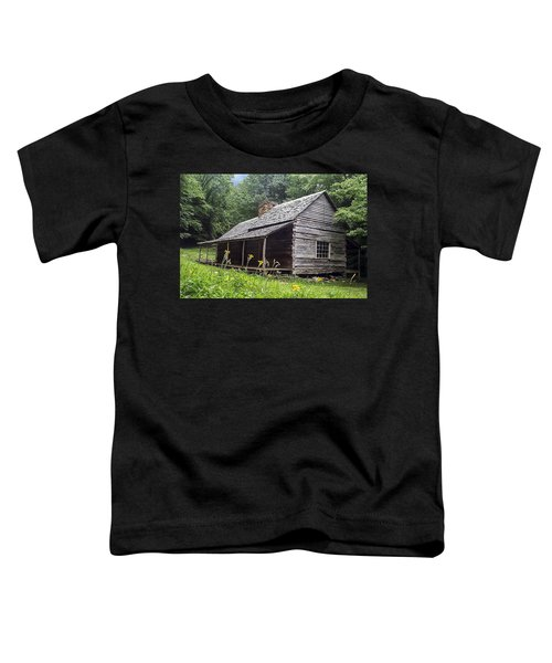 Old Settlers Cabin Smoky Mountains National Park Toddler T-Shirt