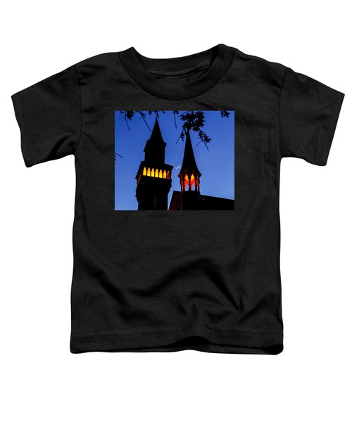 Old Town Hall Crescent Moon Toddler T-Shirt