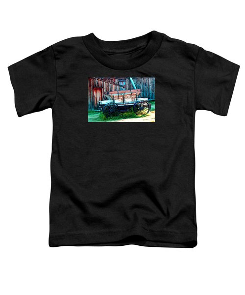 old Wagon In Bodie Toddler T-Shirt