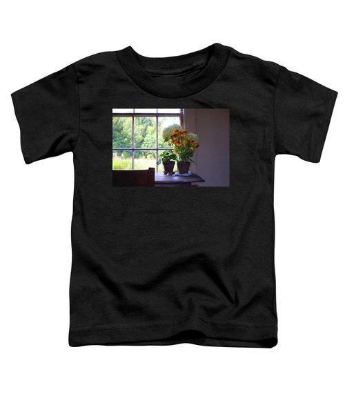 Olson House Flowers On Table Toddler T-Shirt