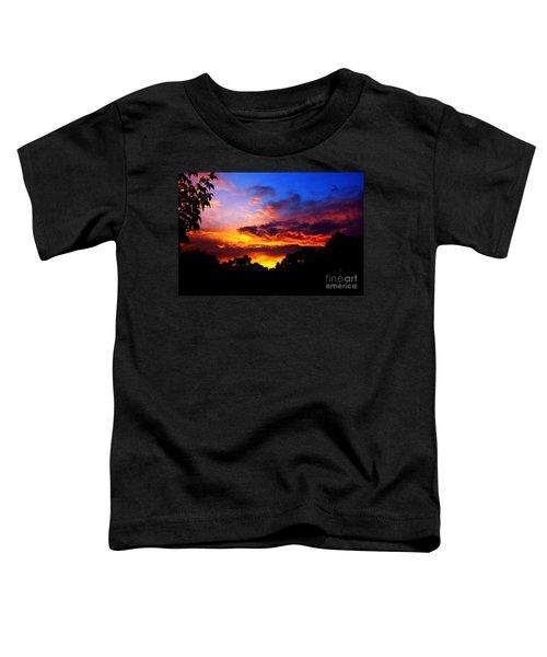Ominous Sunset Toddler T-Shirt