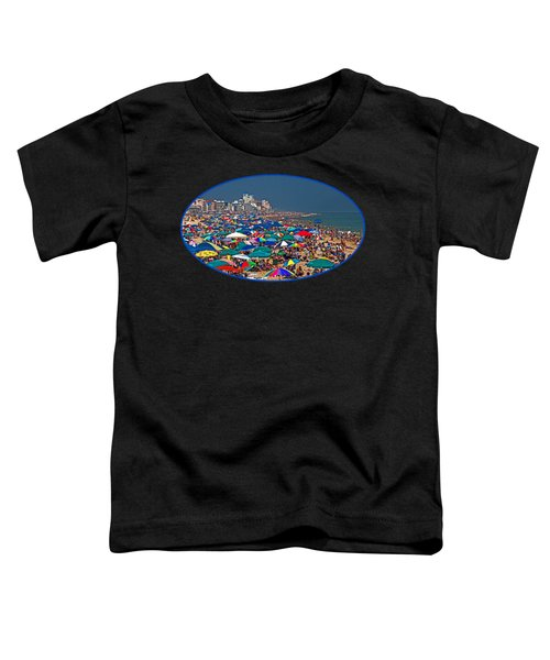On The Beach In August Toddler T-Shirt