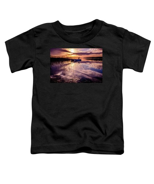 On The Boat Toddler T-Shirt