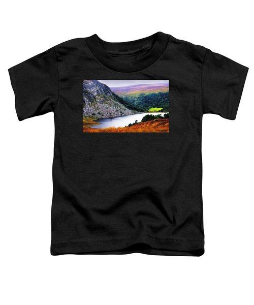 On The Shore Of Lough Tay. Wicklow. Ireland Toddler T-Shirt