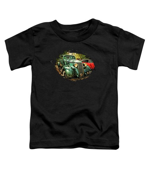 One Cool 1937 Studebaker Sedan Toddler T-Shirt