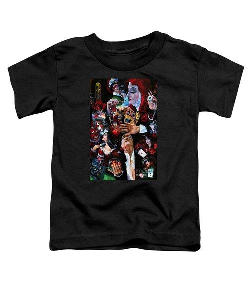 One Night In Paris Toddler T-Shirt