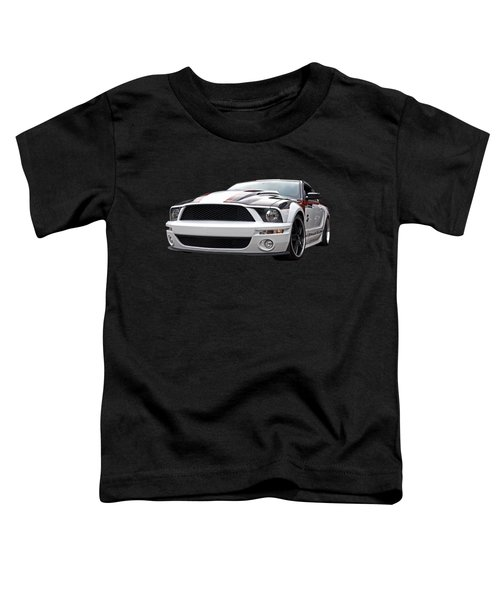 One Of A Kind Mustang Toddler T-Shirt