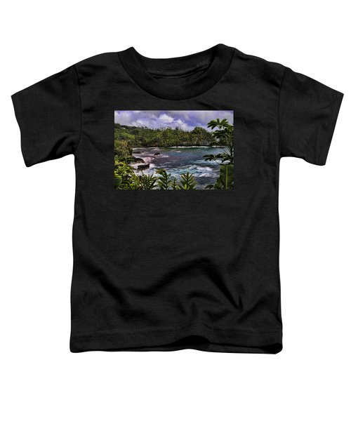 Onomea Bay Hawaii Toddler T-Shirt