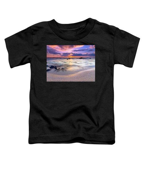 O'oma Beach Sunset Toddler T-Shirt