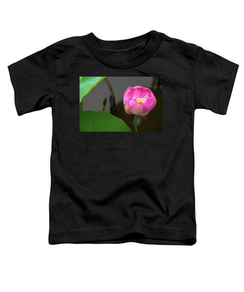 Opening Lotus Lily Toddler T-Shirt