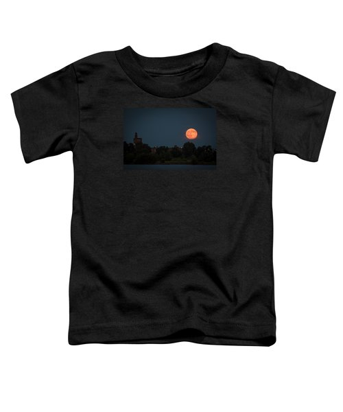 Orange Moon Toddler T-Shirt