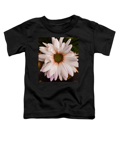 Orange Pastel Daisy Toddler T-Shirt