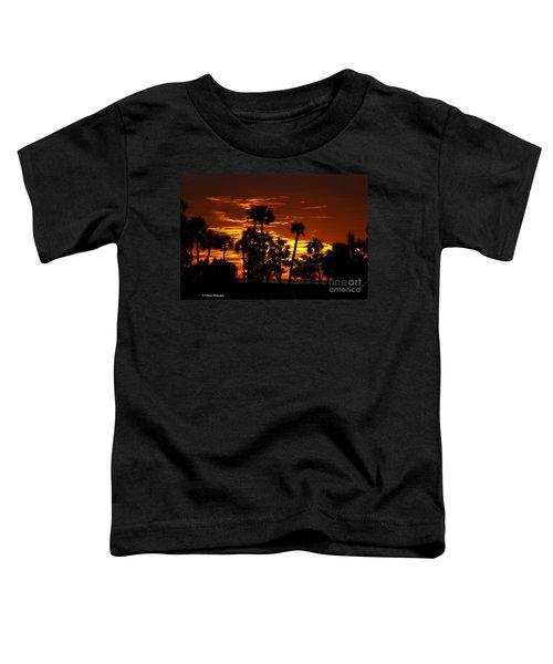 Orange Skies Toddler T-Shirt