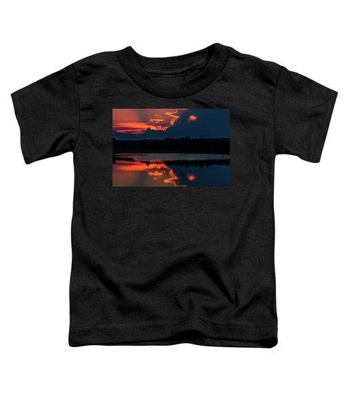 Orange Sky Toddler T-Shirt
