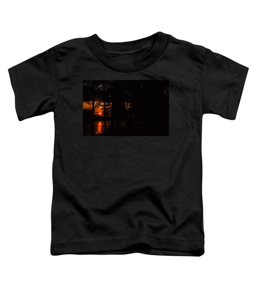 Orange Sunset Toddler T-Shirt